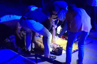 Bursa'da baba kazada yaralananların çocukları olduğunu görünce sinir krizi geçirdi