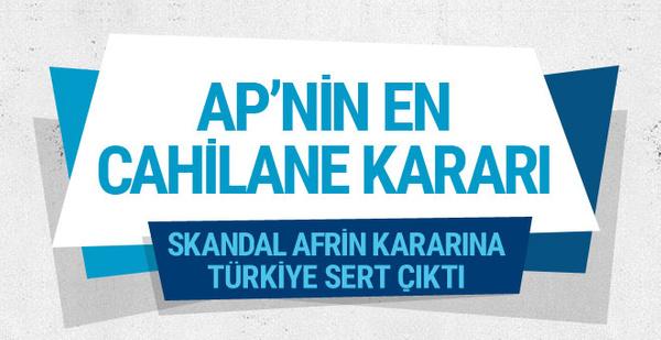 Skandal karar AP'de kabul edildi! Erdoğan ne demişti?