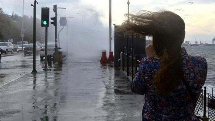 İstanbul için kuvvetli fırtına uyarısı!