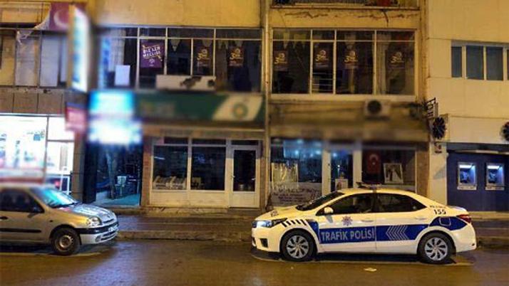 Ankara'da sıcak saatler: HDP binasına ateş açıldı!