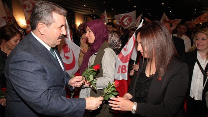 BBP'li Destici: Adayımız Erdoğan'dır