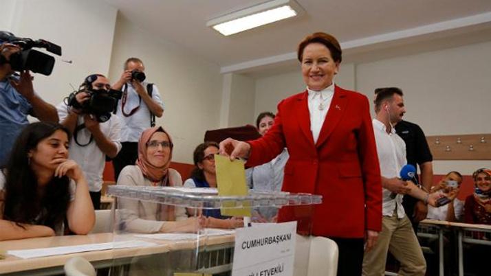Oy verme işlemi sonrası Akşener'den ilk açıklama