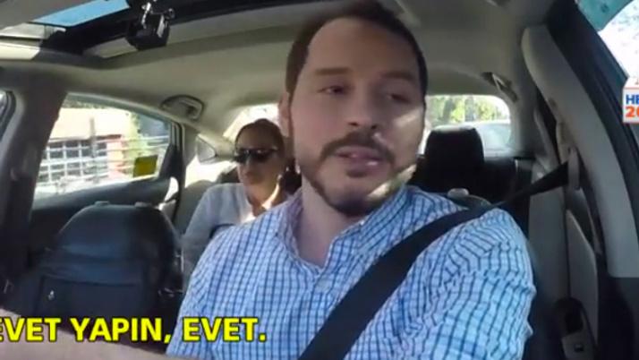 Berat Albayrak taksi kullandı o iddianın aslını yolcuya anlattı