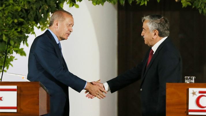 Cumhurbaşkanı Erdoğan: Kıbrıs milli davamız