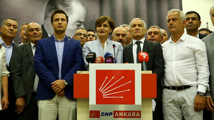 CHP il başkanlarından ortak kurultay açıklaması