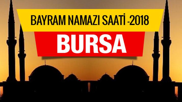 Bursa Diyanet Kurban bayramı namazı saati belli oldu