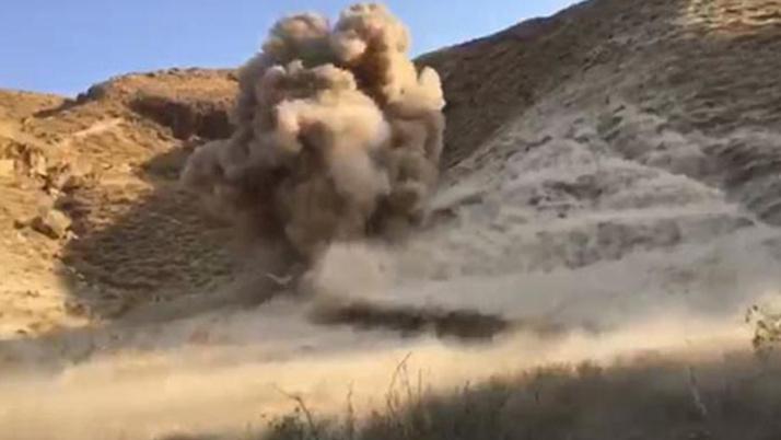 Hakkari'de sınır bölgesinde 5 bin 150 mermi ele geçirildi