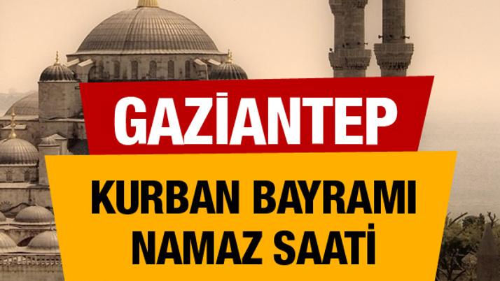 Diyanet bayram namazı vakitleri Gaziantep saati 06:31