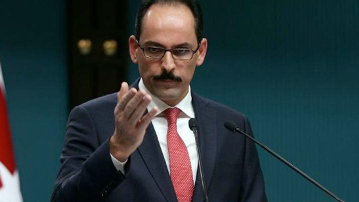 İbrahim Kalın: Güvenli bölgenin kontrolü Türkiye'de olacak