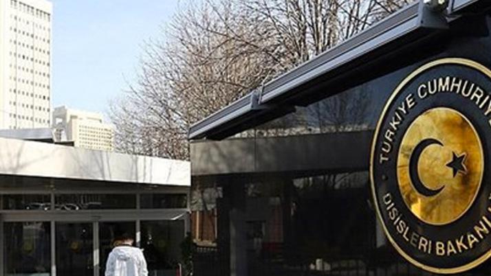 Dışişleri Bakanlığından Münbiç'deki terör eylemine kınama