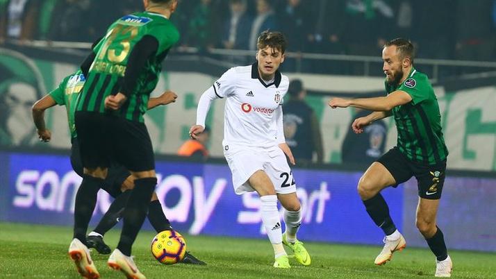 Akhisarspor-Beşiktaş maçında olay kural hatası!
