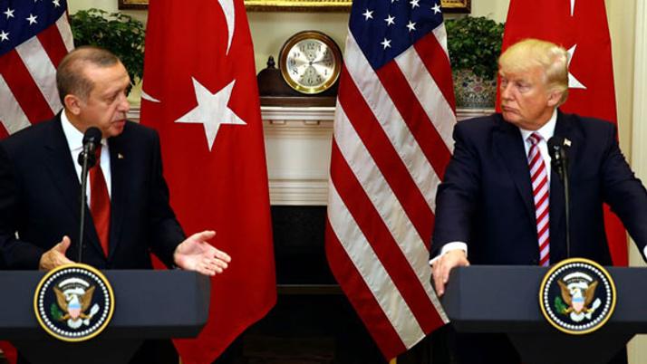 Erdoğan ile Trump Suriye'ye konuştu