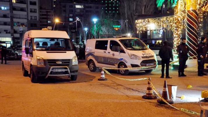 Ankara'da eğlence mekanında silahlı çatışma