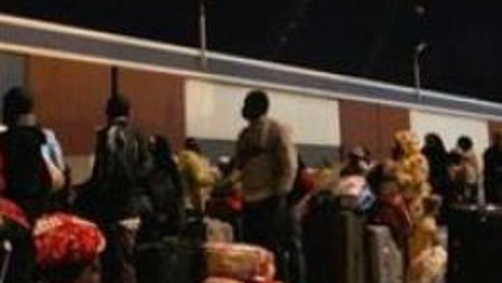 Misrata'dan tahliye edilenler Bingazi'de