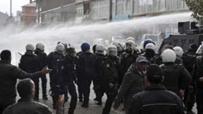 BDP mitingi sonrası olaylar çıktı!