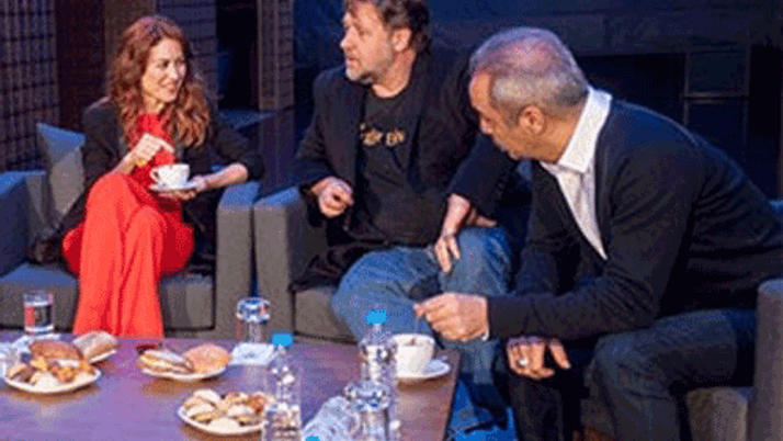 Russell Crowe Erdoğan'ın keşif iddiasını tiye aldı!