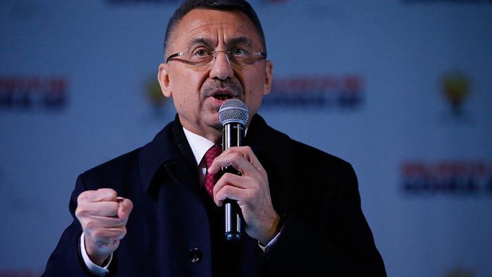 Fuat Oktay: Zillet ittifakı gücünü FETÖ'den ve Kandil'den alıyor
