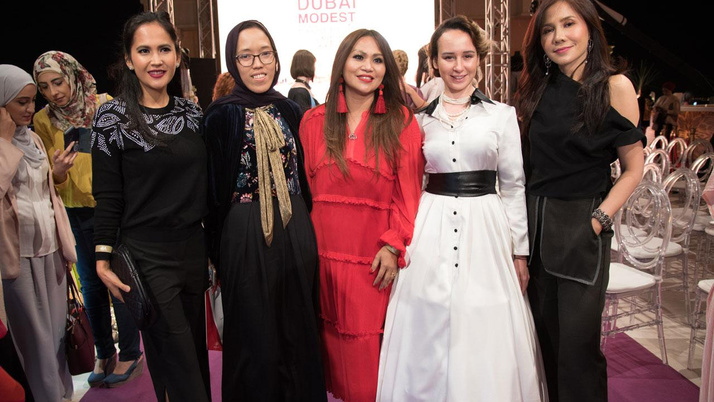 Ticaret Bakanlığı'nın desteğiyle Dubai Modest Fashion Week gerçekleşti