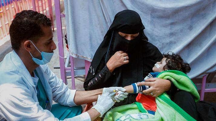Kolera salgını büyüyor o ülkenin hükümetinden açıklama geldi