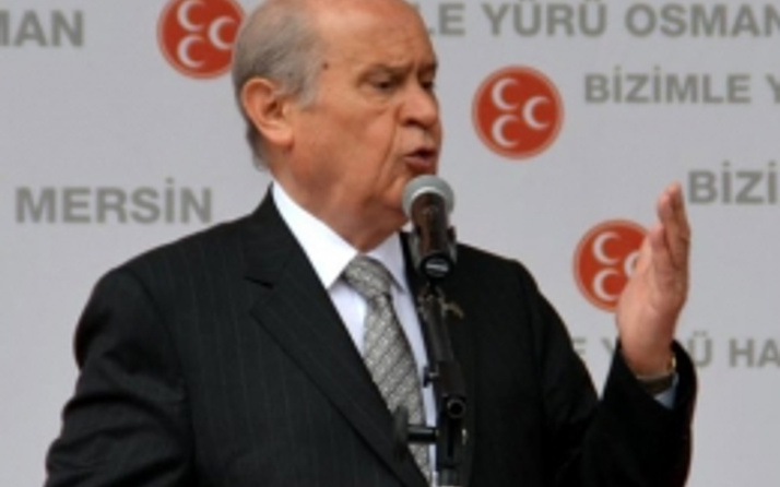 Devlet Bahçeli HDP'nin o sloganıyla oy istedi