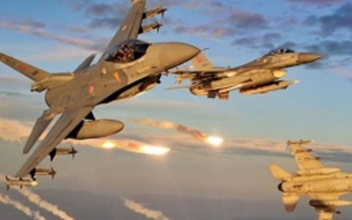 Türk jetlerinden PKK kamplarına baskın