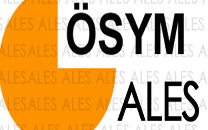 ALES 2015 soruları ÖSYM kitapçığı yayınladı