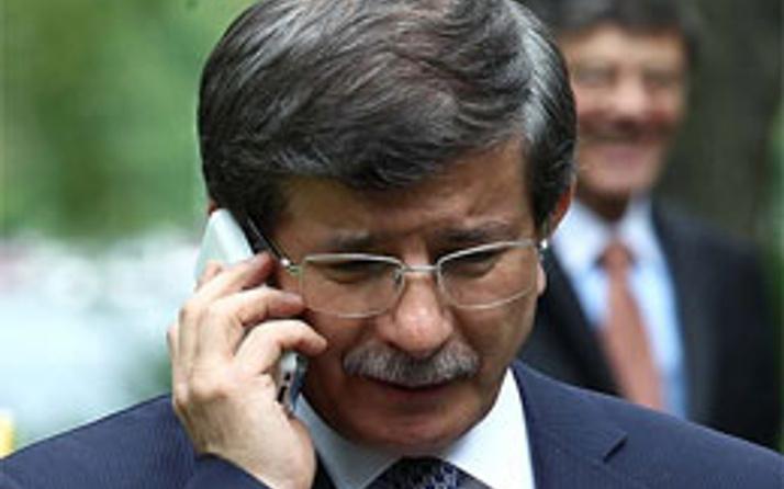 Davutoğlu, Biden ile telefonda görüştü