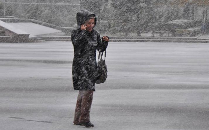 Hava durumu kar yağışı fena bastırdı