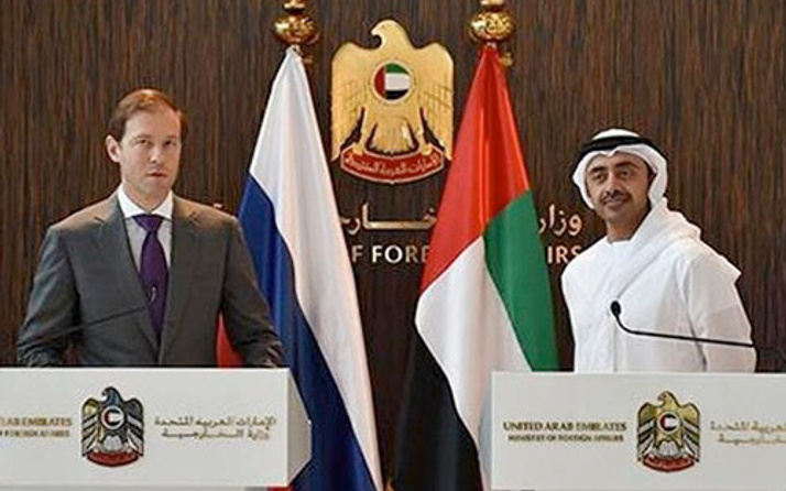 Birleşik Arap Emirlikleri Rus uçağında çarketti