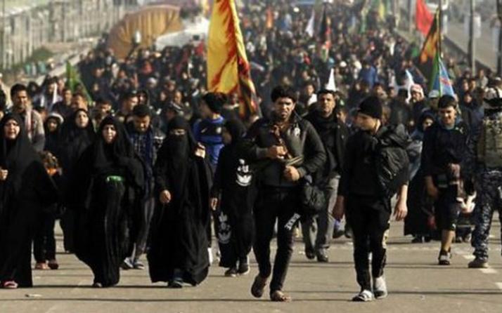 Kerbela İran'daki Erbain törenlerinde anılıyor