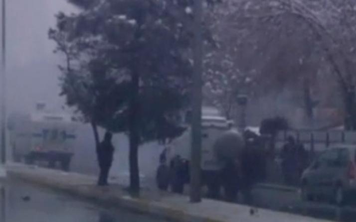 Diyarbakır'da polislere el yapımı patlayıcı