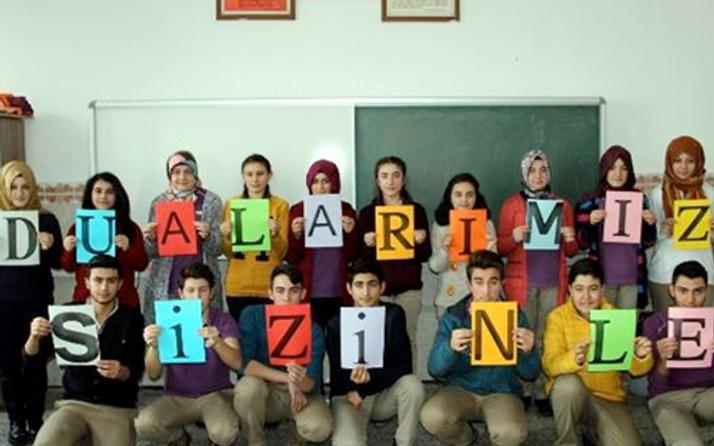 Öğrencilerden polis ve askerlere duygulandıran mektup