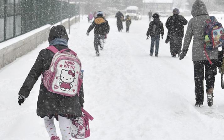 Ankara'da cuma günü okullar tatil mi 22 Ocak