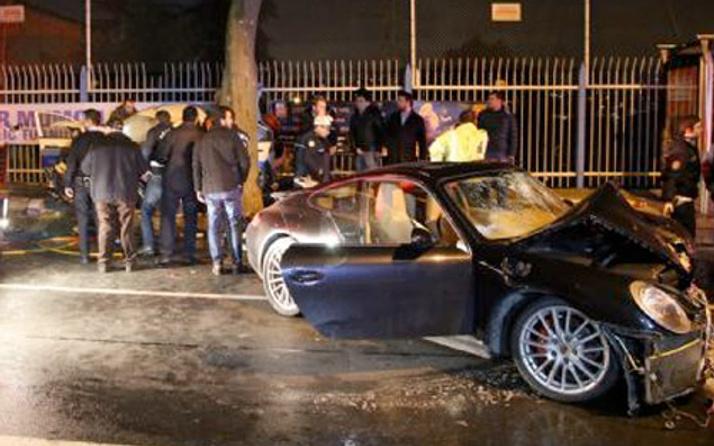 Sinan Çetin'in oğlu kaza yaptı 1 polis şehit oldu