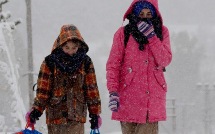 Hava durumu kar bastırdı 12 Aralık okulların tatil olduğu iller!