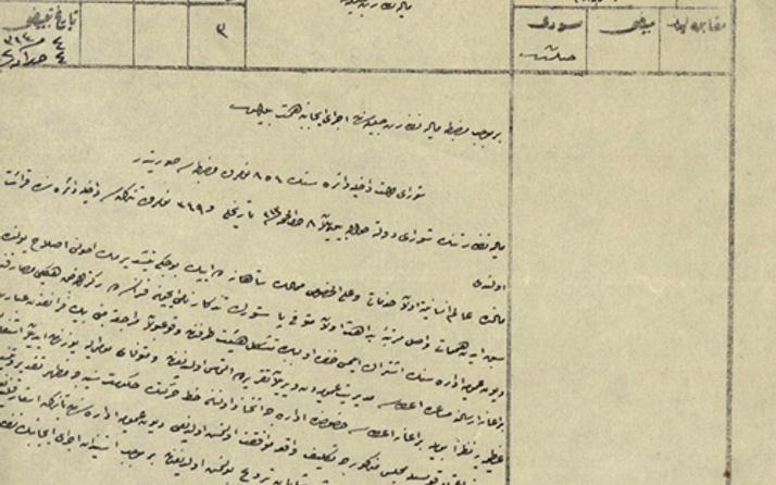 2. Abdülhamid Pasteur'e göndermiş belgesi çıktı