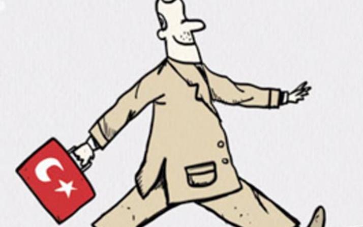 Zaman öyle bir mülteci karikatürü yayımladı ki