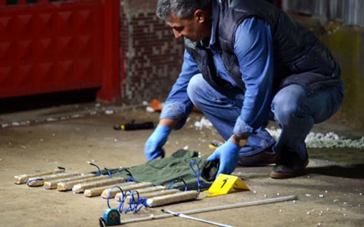 Sınırda hareketlilik canlı bomba yeleği ele geçirildi