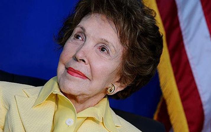 ABD'nin eski First Lady'si Nancy Reagan hayatını kaybetti
