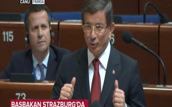 Davutoğlu'ndan Kürkçü'ye Türkçe tepkisi!