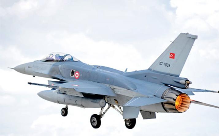 TSK PKK'yı bombaladı Erbil -Süleymaniye yolu kapandı