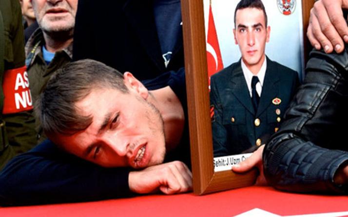 Şehit arkadaşının tabutuna sarılmıştı o askerden haber var