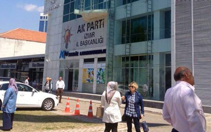 AK Parti il binasında alarm! Bina boşaltıldı