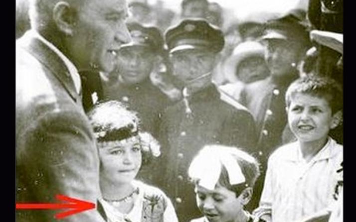 Atatürk'ün yanındaki bu kız bakın kim çıktı!