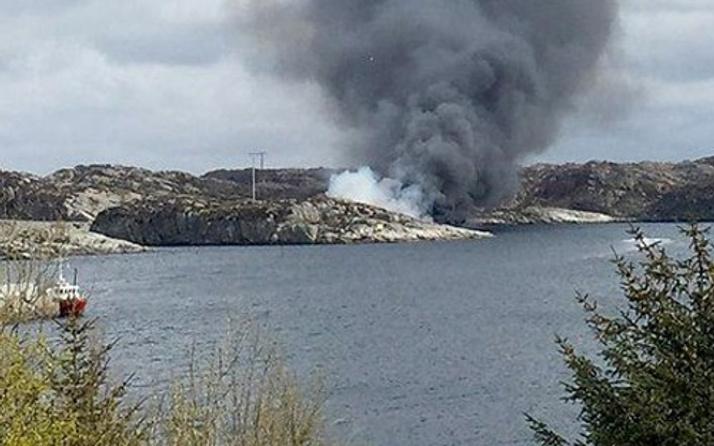 13 kişinin olduğu helikopter tamamen parçalandı!