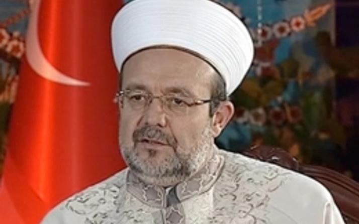 AİHM'in cemevi kararına Mehmet Görmez'den ilk yorum