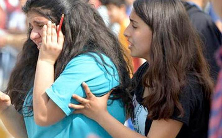 Adana'da liselilerin futbol maçında dehşet