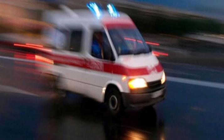 İşçi minibüsü devrildi çok sayıda yaralı var