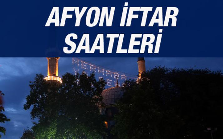 Afyon iftar vakti 2016 sahur saatleri ezan vakitleri