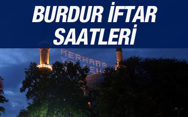 Burdur iftar vakti 2016 sahur saatleri ezan vakitleri